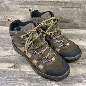 LL Bean Gore-Tex Leather Lace Up Hiking Boots